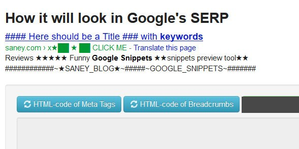 google-rich-snippety