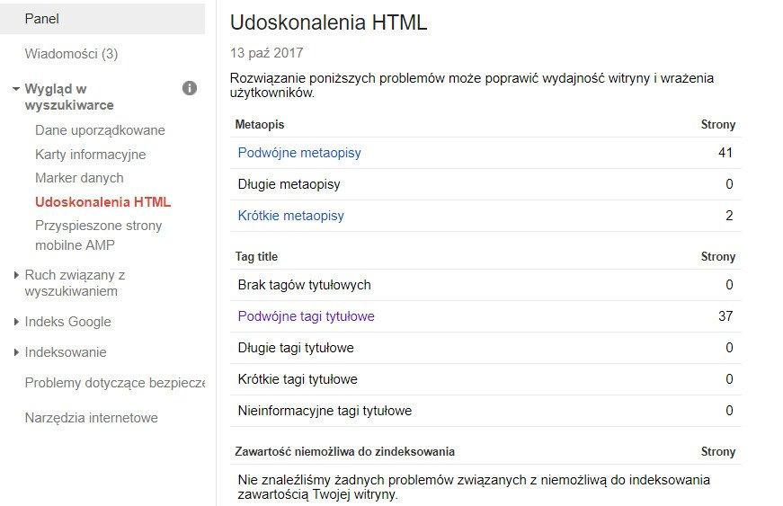 search-console-udoskonalenia-html