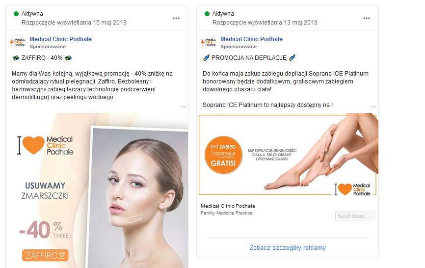 reklamy na fb - analiza