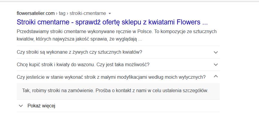 mikroformaty - wyniki google